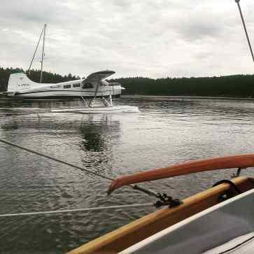 Seaplane at Montague.